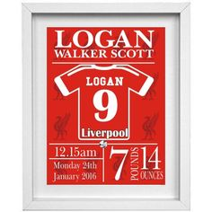 Liverpool Personalised Childrens Nursery Picture