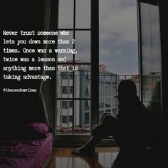 Don't trust someone so easily. It takes years to build the trust and just seconds to break it. If they lie to you for first time then it's a warning, second time it's a lesson and if it goes on then that person is talking an advantage pf your trust. #Trustworthyquotes #Believeinsomeone #Lifelessonquotes #Challengingquotes #Daringquotes #Inspirationalquotes #Motivationalquotes #Quotes #therandomvibez