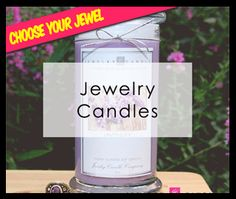JewelryCandles.com - Find Jewelry IN Candles! These smell fantastic AND you get a piece of jewelry in each one! Some worth up to $10,000!! The perfect gift!