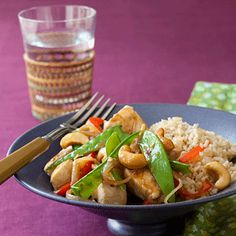 Honey Cashew Chicken recipe