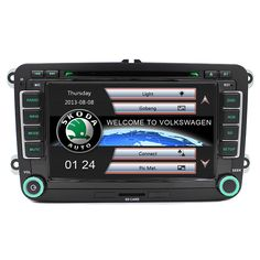 Wince Car DVD Player GPS Navigation Two Din 7 Inch For Volkswagen VW Skoda POLO PASSAT B6 CC TIGUAN GOLF 5 Fabia support 1080p #Affiliate