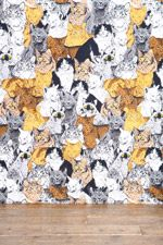 Catz Tapestry Throw at Urban Outfitters