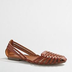 Factory huarache sandals
