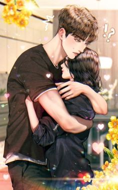 Romantic Anime Couples, Romantic Manga, Fantasy Couples, Cute Anime Couples, Cute Couple Drawings, Anime Couples Drawings, Cute Couple Art, Anime Couples Manga, Love Cartoon Couple