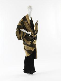 """Prè Catelan"" Coat Paul Poiret, French ca. 1918 silk, metallic thread"