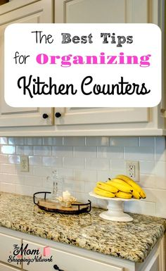 These are the Best Tips for Organizing Your Kitchen Counters I've seen in awhile, glad I found this! Organizing Kitchen|Organizing Kitchen Counters|Organizing Kitchen Countertops|Kitchen Organization Tips|Kitchen Organization Ideas|Kitchen Organization Countertops|Best Kitchen Organization Ideas|Best Kitchen Organizing Ideas|Best Organizing Tips