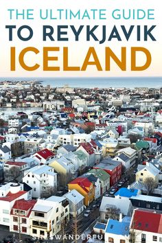 A Complete Iceland Travel Guide | Discover the best things to do in and around Reykjavik in this full guide to planning a trip to Iceland! | Travel guide to Iceland | Iceland travel itinerary | Reykjavik Iceland things to do European Road Trip, European Travel Tips, Travel Tips For Europe, Road Trip Europe, Europe Destinations, Reykjavik Iceland, Iceland Travel, Backpack Through Europe, Guide To Iceland
