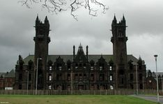 Gartloch Mental Asylum, Glasgow, Scotland Opened in 1896 and closed on it's 100th year.
