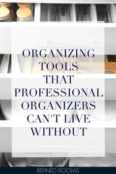Curious to know what organizing tools and storage products pro organizers use and love? Check out my round up of must-have tools for every space in your home and get ready to reign in the chaos! Small Space Organization, Laundry Room Organization, Home Office Organization, Paper Organization, Organizing Your Home, Organizing Tools, Organizing Solutions, Must Have Tools, Tool Storage