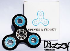 The must have hand toy or fidget toy 2017!  Dizzy Spinners are fun hand toys that are designed for your fingers to spin around in any direction. Non-3D printed and hybrid ceramic ball bearings allow for 3+ minutes spin time! Keep your hands busy and your mind clear with Dizzy Spinners....