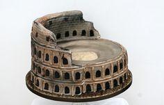 15 Awesome Colosseum Cake Designs Ideas 5