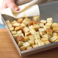 How to Make Bread Cubes for Thanksgiving Stuffing (Use bread from Kneaders)