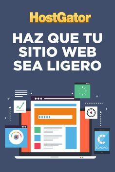 Quítale un peso a tu sitio web, hazlo ligero