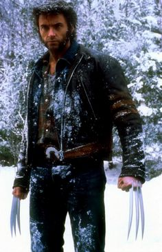Volverine - Hugh Jackman  (yummy ;) )