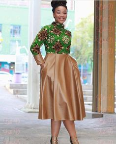 Look at this Gorgeous modern african fashion African Fashion Designers, African Print Fashion, Africa Fashion, African Fashion Dresses, Fashion Outfits, African Outfits, Latest Ankara Dresses, Ankara Gown Styles, African Attire