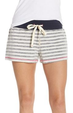 43ac5509552 Jane   Bleecker New York Stripe French Terry Shorts