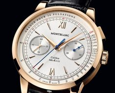 MONTBLANC Meisterstück Heritage Pulsograph (limited edition 90 watches) | Watches News