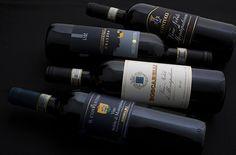 Bottles of Vino Nobile di Montepulciano