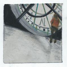Musee D'orsay. Paris. Andi Ipaktchi illustration. illustratrice.com