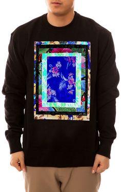 Gordon Holden The Danno Crewneck Sweatshirt in Black - Click link for product details :)