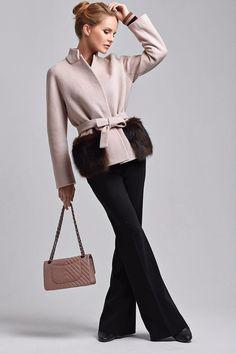 """Купить Укороченное пальто """"пастель"""" - кремовый, пальто, Весеннее пальто, кремовое пальто, короткое пальто"""