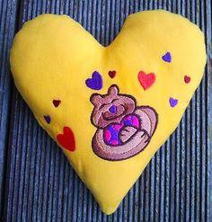 Hier mein 8. Herz für Dich: Mit vollen Händen jede Menge Liebe verschenken