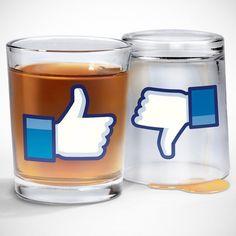 I Like Shots Shot Glasses #facebook