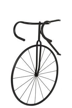 Deco Originale, Decoration, Bicycle, Design, Industrial Decorating, Black Metal, Industrial Style, Wall Art, Decor