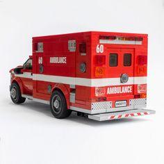 Los Angels Fire Department Ambulance