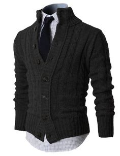 H2H Mens High Neck Twisted Knit Cardigan Sweater With Button Details CHARCOAL US S/Asia M (KMOCAL020) H2H http://www.amazon.com/dp/B00F3UPJV2/ref=cm_sw_r_pi_dp_Eriyub10HPV8X