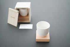 02 Tea Cup is a minimalist design created by Chicago-based firm Sung Jang Laboratory. 02 Tea Cup is the refined evolution of its predecessor, Otea. In use, the user is gently guided to follow a rule of custom without being forced. The cup is hand crafted by celebrated ceramicist Mr. Son and produced in Icheon, Korea by the design of Sung.