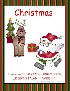 This is a Christmas lesson plan for 1 week for infants, toddlers and preschoolers. (Please follow me and watch for future lesson plans to make the month of December a Christmas - All Month Long theme).1 - 2 - 3 Learn Curriculum likes to incorporate letter, color, number and shape into each lesson plan, so this week includes the letter I, number 1, color red and shape triangle.Also includes infant, toddler and preschool activities, circle time idea, small and large group activities…