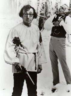 ".Woody Allen in ""Love and death""  one of my all time favorites....."