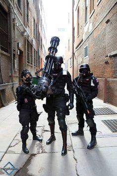 Resident evil, Umbrella Corp Denver, cosplay, cosplay for charity, https://www.facebook.com/umbrellacorp.denver