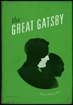 The Great Gatsby by F. Scott Fitzgerald • Designed by Rae Drake for The Fox Is Black competition: Re-Covered Books • 2011