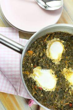 Stevia, Palak Paneer, Creme, Eggs, Ethnic Recipes, Food, Essen, Egg, Meals