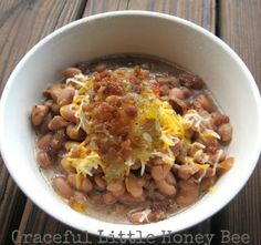 """""""Every month, I make a big batch of brown rice and a big batch of (dried) pinto beans in the Crock Pot. Then I portion both of them out in 16-ounce containers. For a quick meal, toss one serving of rice, one serving of beans, and 8 ounces of your favorite salsa in a skillet. Heat through, and serve with your favorite taco toppings in a tortilla."""" —Samantha T.Recipe here."""