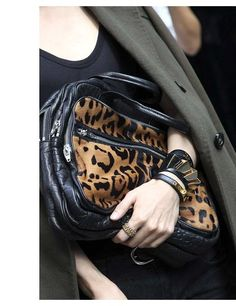 We'd hold this bag tight too if we owned it. From Alexander Wang www.alexanderwang.com