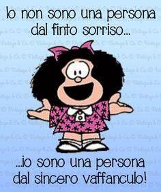 vintage & co Humour Intelligent, Mafalda Quotes, Italian Quotes, Emoticon, Sonos, Funny Images, Words Quotes, Vignettes, Quotations