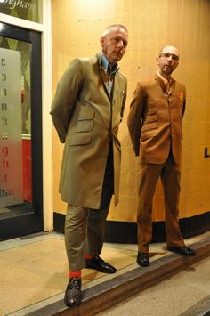 durtyreggae: aggroworld: Marc & Simon (very smart suits) Holy Smokes! Teddy Girl, Skinhead Fashion, Skinhead Style, Tailor Made Suits, White Ripped Jeans, Skinny Jeans, Hippie Man, Zoot Suits, Rude Boy