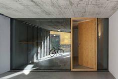 Beton Haus-moderne Innenarchitektur-Porto Ezzo