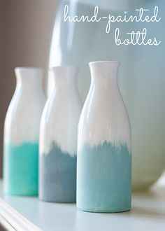 hand painted bottles – Circus Berry