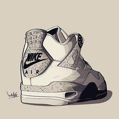 #sneakerart #artist @linyancin by sneaker.art