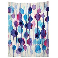 Deny Designs 'Abstract Watercolor' by CMYKaren Graphic Art on Wrapped Canvas Size: Abstract Watercolor Art, Watercolor Canvas, Watercolor Design, Abstract Wall Art, Canvas Art, Canvas Prints, Canvas Size, Tapestry Online, Contemporary Wall Art
