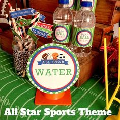 DIY All Star Sports PARTY PACK by LaurenHaddoxDesign on Etsy