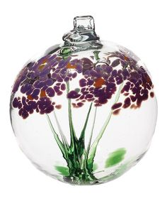 Love this Purple 2.5'' Best Wishes Kitras Blossom Ball on #zulily! #zulilyfinds