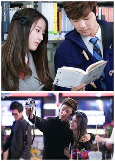 Krystal and Kang Min Hyuk in Heirs
