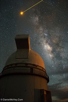 Milky Way: Mauna Kea Observatory #Astronomy #Hawaii #Photography