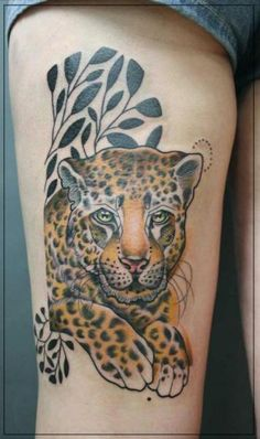 Top 50 Leopard Tattoos For Men And Women – MyVisions.org