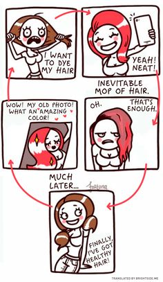 15expressive cartoons that only women will understand